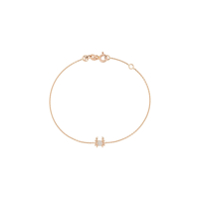 Kismet By Milka Pulseira De Ouro Rosê 14Kt Cancer - The Crab Com Diamante - Rose Gold