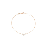 Kismet By Milka Pulseira De Ouro Rosê 14Kt Libra - The Scales Com Diamante - Rose Gold
