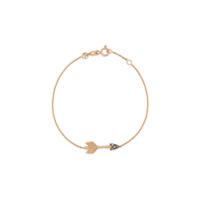 Kismet By Milka Bracelete De Ouro Rosê 14Kt Big Arrow Com Diamante - Rose Gold