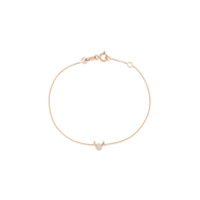 Kismet By Milka Pulseira De Ouro Rosê 14Kt Taurus - The Bull Com Diamante - Rose Gold