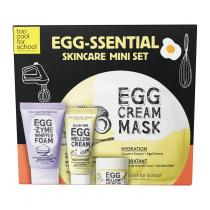 Kit 3 Passos Too Cool For School Egg Essential Skincare