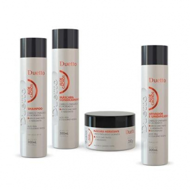 Kit Aloe Cachos 1 Shampoo 300Ml + 1 Condicionador 300Ml + 1 Máscara 280G + 1 Leave-In 300Ml-Feminino
