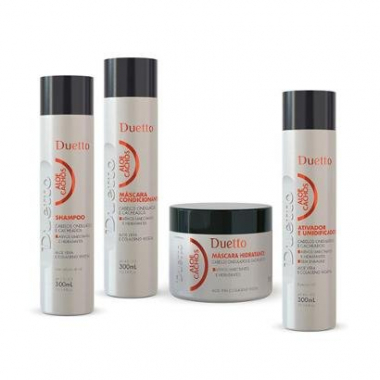 Kit Aloe Cachos 1 Shampoo 300ml + 1 Condicionador 300ml + 1 Máscara 500g + 1 Leave-In 300ml-Feminino