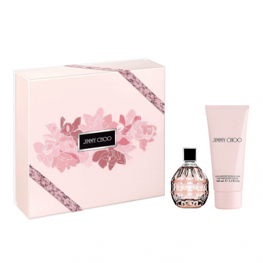 Kit Cofffret Jimmy Choo Feminino Eau De Parfum 60Ml + Body Lotion 100Ml