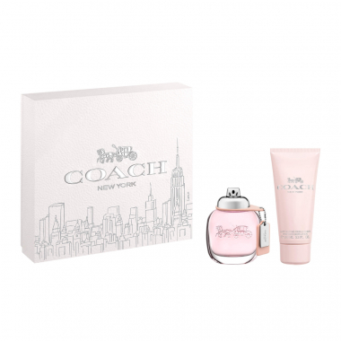 Kit Coffret Coach Feminino Eau De Toilette 50Ml + Hidratante 100Ml