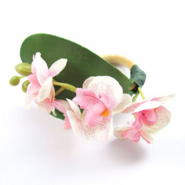 Kit De 4 Ou 6 Porta Guardanapos Mini Orquideas Rosa