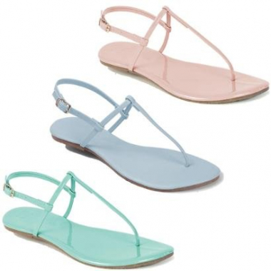Kit Rasteira Mercedita Shoes Verniz Feminina-Feminino
