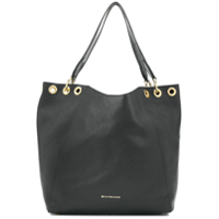 L'autre Chose Eyelet-Detailed Tote Bag - Preto