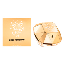 Lady Million Feminino Eau de Toilette 80 ml de Paco Rabanne