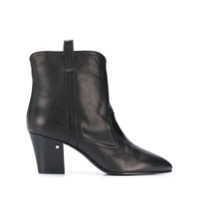 Laurence Dacade Cowboy Style Ankle Boots - Preto