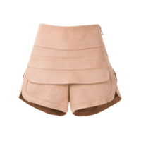 Le Lis Blanc Short 'polly Iii' Com Recortes - Neutro