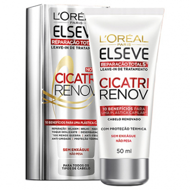 Leave In Reparador L'oréal Paris Elseve Cicatri Renov 50Ml-Feminino