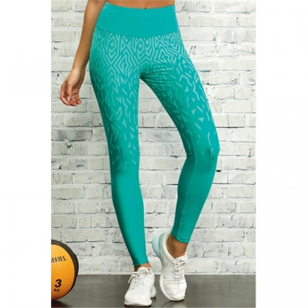 c50cf03886aa2 Legging Alto Giro Matrix Degradê
