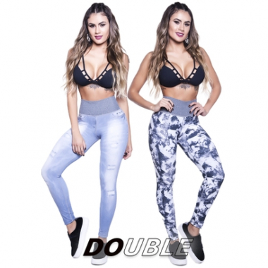 Legging Double Club Lipsoul-Feminino