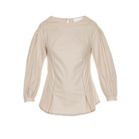 Lilly Sarti Blusa 'gabardine Eugenie' - Off White