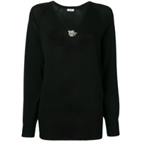 Liu Jo Black Knit Sweater - Preto