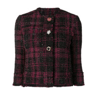 Liu Jo Embellished Button Jacket - Preto