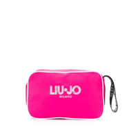 Liu Jo Logo Zipped Clutch - Rosa