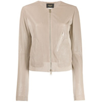 Liu Jo Perforated Design Jacket - Neutro