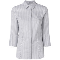 Liu Jo Striped Fitted Shirt - Branco