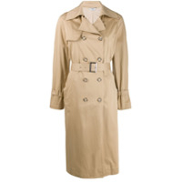 Liu Jo Trench Coat Com Cinto - Neutro