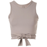 Live The Process Cropped Vest Top - Marrom