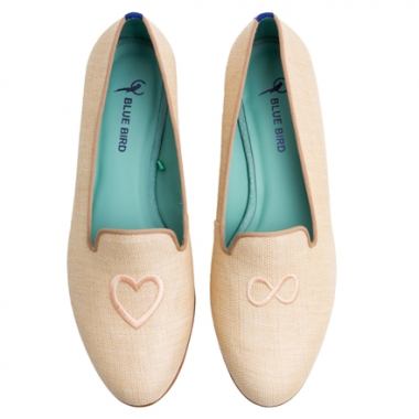 Loafer Amor Infinito Palha C Natural