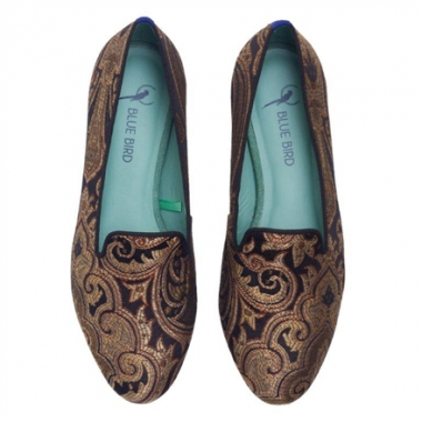 Loafer Golden Jacquard