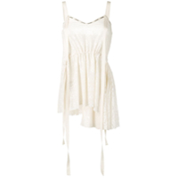 Loewe Ribbon Detailed Top - Branco