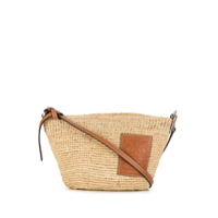 Loewe Trapeze Design Cross Body Bag - Neutro