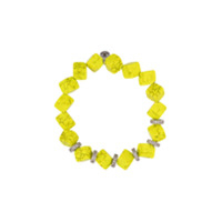 Lord And Lord Designs Pulseira Com Contas - Amarelo