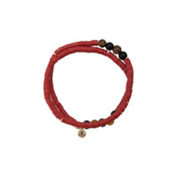 Lord And Lord Designs Pulseira Tribal - Vermelho