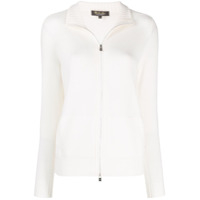 Loro Piana Zipped Cardigan - Branco