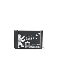 Love Moschino Clutch Berlin - Preto