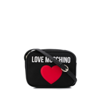 Love Moschino Bolsa Tiracolo Love Heart - Preto