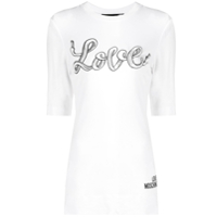 Love Moschino Love T-Shirt - Branco