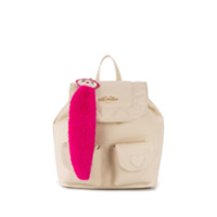 Love Moschino Quilted Heart Backpack - Branco
