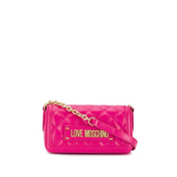Love Moschino Quilted Shoulder Bag - Rosa