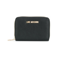 Love Moschino Zip Around Wallet - Preto