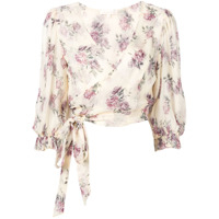 Love Shack Fancy Blusa 'domino' - Neutro
