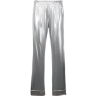 Love Stories Metallic Pyjama Pants - Prateado