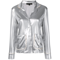 Love Stories Metallic Pyjama Top - Prateado
