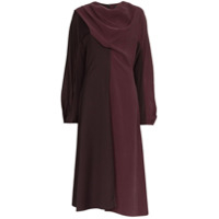Low Classic Vestido Midi - Purple