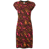 M Missoni Vestido Slim Animal Print - Rosa