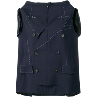 Maison Margiela Deconstructed Jacket - Azul