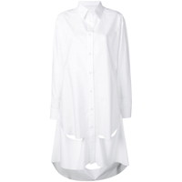 Maison Margiela Simple Shirt With Cut-Out Detail - Branco