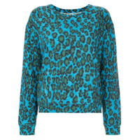 Majestic Filatures Blusa Com Animal Print - Azul