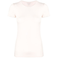 Majestic Filatures Plain Fitted T-Shirt - Rosa