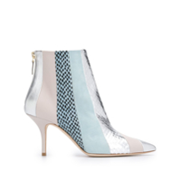 Malone Souliers Striped Amal Ankle Boots - Azul