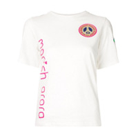 MANISH ARORA Camiseta com bordado Neymar Jr - Branco